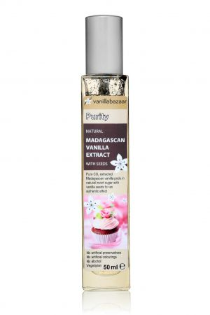 50ml Purity Madagascan Vanilla Extract with Seeds