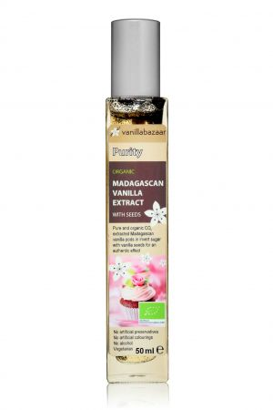 50ml Purity Organic Madagascan Vanilla Extract with Seeds
