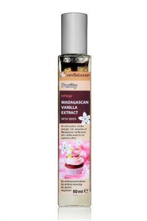 50ml Purity Intense Madagascan Vanilla Extract with Seeds
