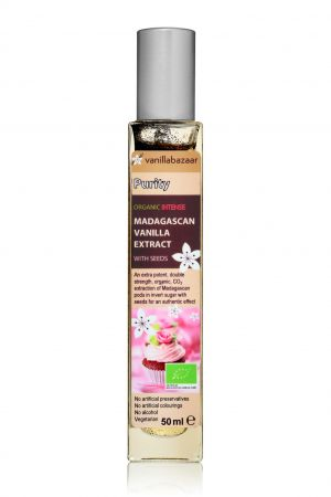 50ml Purity Intense Organic Madagascan Vanilla Extract with Seeds