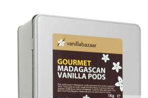 1Kg Gourmet Madagascan Vanilla Pod Tin