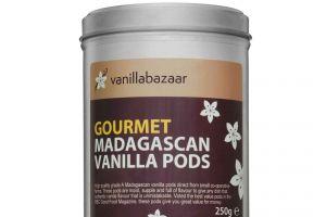 250g Gourmet Madagascan Vanilla Pod Tin