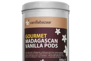 500g Gourmet Madagascan Vanilla Pod Tin