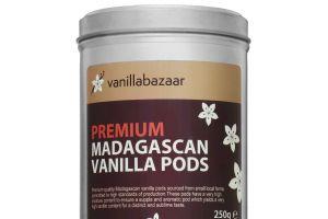 250g Premium Madagascan Vanilla Pod Tin