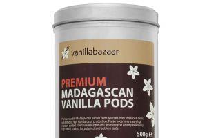 500g Premium Madagascan Vanilla Pod Tin