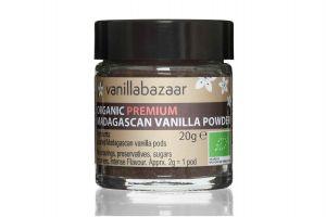 20g Premium Organic Madagascan Vanilla Powder