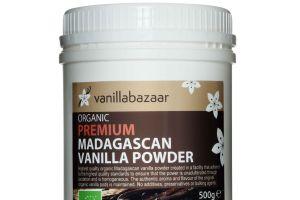 500g Premium Organic Madagascan Vanilla Powder Jar