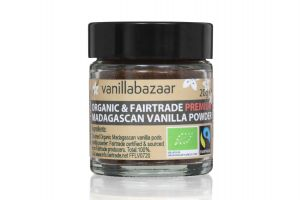 20g Premium Organic & Fairtrade Madagascan Vanilla Powder