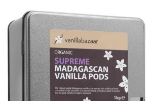 1Kg Supreme Organic Madagascan Vanilla Pod Tin