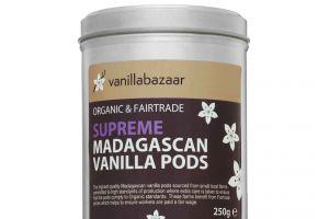 250g Supreme Organic & Fairtrade Madagascan Vanilla Pod Tin